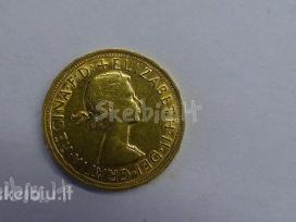 Siūlau auksiniu svaru ir kitokiu monetų po 430 eur