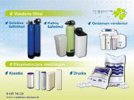 Vandens filtrai,geriamo vandnes sistema, druska