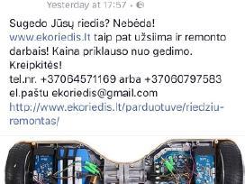 Greitas Riedžių remontas Kaune. Geriausia kaina!