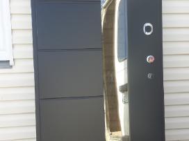 Aukštos kokybės lauko durų gamyba ir montavimas