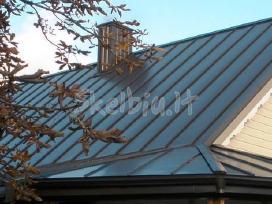 Plieninių stogų-sienų dangų gamyba - nuotraukos Nr. 7