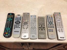 Panasonic,JVC,sony,vidoe,LG,lifetec distanciniai