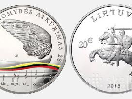 Parduodu Lietuvos nepriklausomybės atkūrimo 25-meč