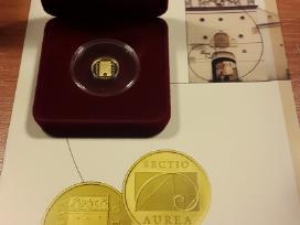 Mažiausios aukso monetos pasaulyje kaina 220 euru.