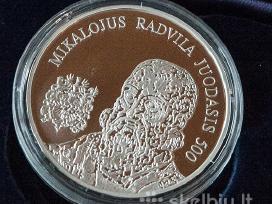 Parduosiu Lietuviška Sidabrine moneta 99 Euru.