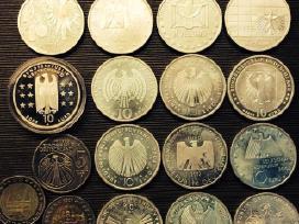 Šiolaikiniai eurai nominalas po 10 euru