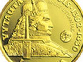 Vytautas dydisis 100 litu kaina 1350 euru.