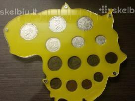 Siulau iidėkliuka Lietuvos monetoms kaina 15 euru
