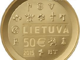 Parduosiu pirma Lietuviškaau.moneta 50 Eur 420 Eur