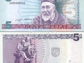 Parduodu bankinio stovio 5 litus kaina 35 euru.