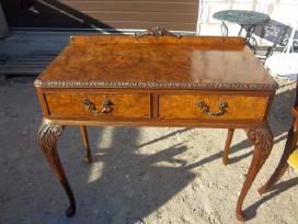 Klasikinis antikvarinis stalas ir 6 kėdės - nuotraukos Nr. 8