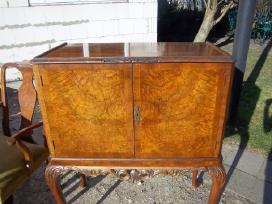 Klasikinis antikvarinis stalas ir 6 kėdės - nuotraukos Nr. 9