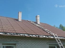 Kaminų valymas stogų remontas dengimas skardinimas - nuotraukos Nr. 4