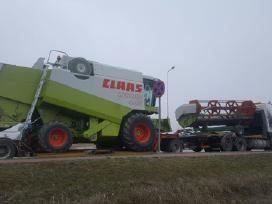 Kombainų ir k.t technikos transportavimo paslaugos