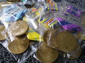 Parduodu kelis Rusu medalius kaina po 10 euru