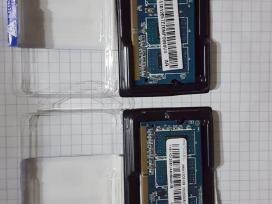 Atmintis RAM So-dimm Ddr3 1066 MHz x 2 vnt po 1 GB