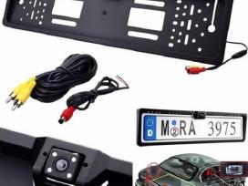 LCD monitorius ir ivairios vaizdo kameros