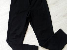 Moteriškos juodos 38 dydžio klasikinės kelnės