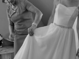 Vestuvinė suknelė su tiulio sijonu (2in 1) - nuotraukos Nr. 2