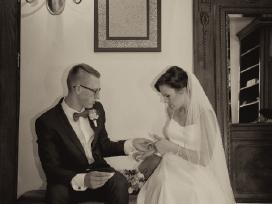 Vestuvinė suknelė su tiulio sijonu (2in 1) - nuotraukos Nr. 6
