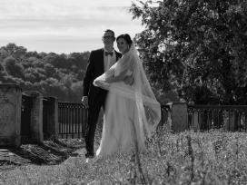 Vestuvinė suknelė su tiulio sijonu (2in 1) - nuotraukos Nr. 7
