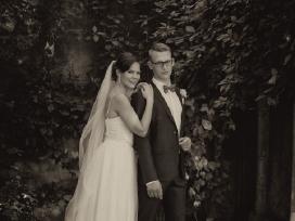 Vestuvinė suknelė su tiulio sijonu (2in 1) - nuotraukos Nr. 8