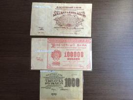 Parduodu 1921 m. ir su rubliu kaina 80 euru