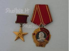 Siūlau Rusu Lenino ordiną kaina 30 euru.