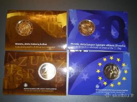 Parduodu 2015 m. kolekcinia 2euru pakuote kaina 15