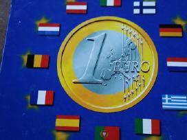 Parduodu dideli ir mažus komplektus euru