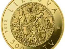 Perku Lietuvos Banko sidabrines auksines monetas
