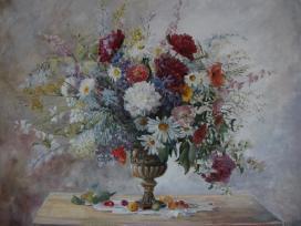 """""""Vasaros puokštė"""" , 60x80 cm - nuotraukos Nr. 7"""
