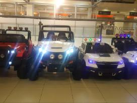 Naujiena 2017 metu! Elektromobiliai Jeep 4x4!