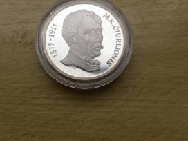 M. K. Čiurlionis 50 litu.kaina 180 euru.