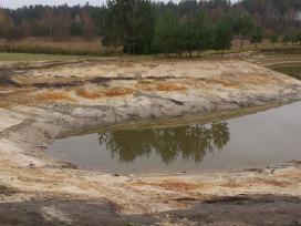 Tvenkiniu kasimas,valymas,aplinkos tvarkymo darbai