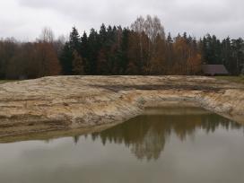 Tvenkiniu kasimas,valymas,aplinkos tvarkymo darbai - nuotraukos Nr. 9