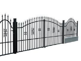 Metalinės tvoros vartai, varteliai, automatika - nuotraukos Nr. 9