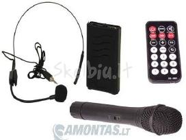 Ibiza Port15 su vidine baterija ir mikrofonais - nuotraukos Nr. 4