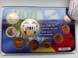 Vokietijos Euro monetų rinkinys su sertifikatu, pl