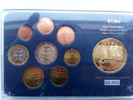 2009 Slovakijos Euro monetų rinkinys, plius medali