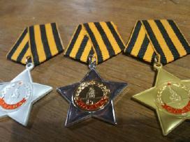 Parduodu daug Rusu medaliu,ordinu kainos 20 euru