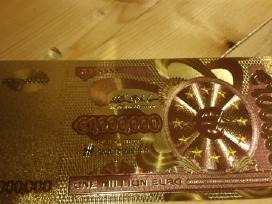 Parduodu auksini banknotą 1000000 euru kaina 10 eu
