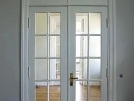Medinių durų bei langų restauracija, remontas