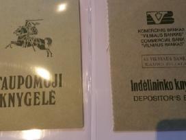 Taupomos knygelės kaina po 5 eurus