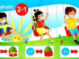 Plastikinės supynės Trys viename 20,3