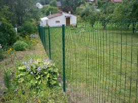 Tvoros segmentinės , medinės , metalinės , tinklas - nuotraukos Nr. 3