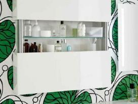 Ifo (Švedija) prabangi balta vonios spintelė