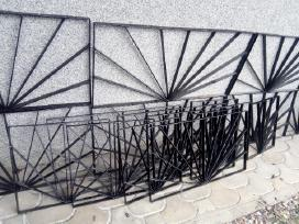 Metalines grotos, tvorelė ,vartai.