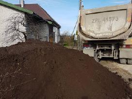 Kompostuotas Juodzemis Siltnamiui Vejai Darzui