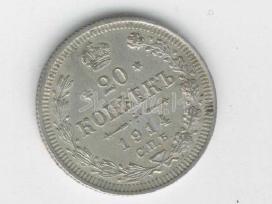 20kp 1914m., bankinis stovis